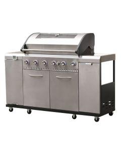 Landmann Grill Chef Premium 6 Burner Gas BBQ