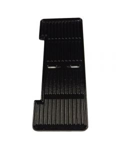Genuine Outback small griddle with cut out to fit Spectrum Flatbed barbecues manufactured in 2008 and after