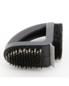 Genuine Outback cleaning tool with brush, wool and blade cleaning options