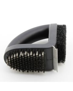Genuine Outback 3-in-1 grill brush