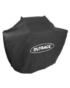 Genuine Outback 3 burner hooded barbecue cover.