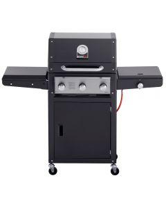 Grandhall Xenon 3 burner gas BBQ